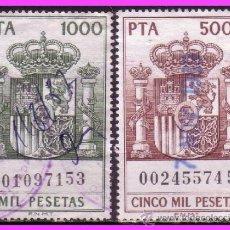 Sellos: 1985 PÓLIZAS, FISCALES ALEMANY Nº 765 Y 766 (O) . Lote 38043027