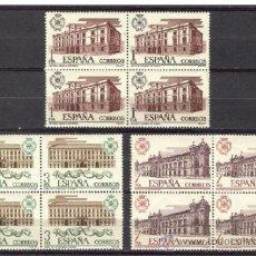Sellos: ESPAÑA 1976 ADUANAS ** SERIE COMPLETA BLOQUE 4 SELLOS SIN FIJASELLOS. Lote 38446921