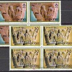 Sellos: ESPAÑA 1979 NAVIDAD ** SERIE COMPLETA BLOQUE 4 SELLOS SIN FIJASELLOS. Lote 83283947