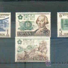 Sellos: BICENTENARIO DE LA CONSTITUCIÓN DE LOS ESTADOS UNIDOS.- 2322/25.- VALOR CATÁLOGO 2,85 EUR. Lote 38600997