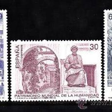 Francobolli: ESPAÑA 3453/55** - AÑO 1996 - PATRIMONIO MUNDIAL DE LA HUMANIDAD. Lote 112842138