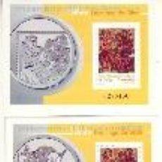 Sellos: ESPAÑA 3818 / 3819 HB - STO. DOMINGO SILOS 2001. MISMA NUMERACIÓN. NUEVA SIN FIJASELLOS. CAT.11,50€.. Lote 233041805