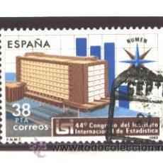 Timbres: ESPAÑA 1983 - EDIFIL NRO. 2718 - CONGRESO DE ESTADISTICA - USADO. Lote 38810925