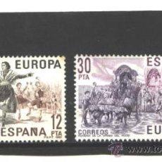 Timbres: ESPAÑA 1981 - EDIFIL NRO. 2615-16 - EUROPA-CEPT - USADOS. Lote 38850704