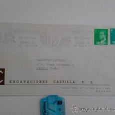 Sellos: CARTA DE BURGOS CON PUBLICIDAD DEL 84. Lote 38919970