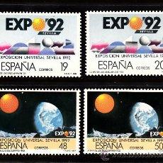 Sellos: ESPAÑA 2875/76A** - AÑO 1987 - EXPOSICIÓN UNIVERSAL DE SEVILLA - EXPO 92. Lote 39023659