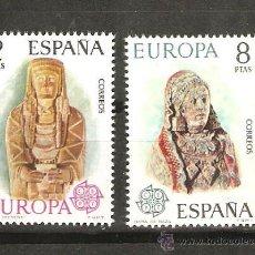 Sellos: LOTE O SELLOS ESPAÑA EUROPA CEPT NUEVOS SIN FIJASELLOS. Lote 143648206