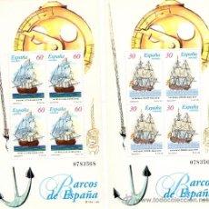Sellos: BARCOS DE EPOCA DEL AÑO 1996 . Lote 39191731
