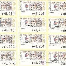 Sellos: ATM PINTA EL TEU SEGELL-4 SERIES- LIQUIDAC.COLEC.. Lote 109145687
