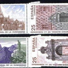 Sellos: ESPAÑA 1991 EDIFIL 3146/49 SELLOS ** BIENES CULTURALES Y NATURALES PATRIMONIO DE LA HUMANIDAD PARQUE. Lote 39440231