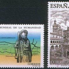 Sellos: ESPAÑA 1995 EDIFIL 3390/1 SELLOS ** BIENES CULTURALES Y NATURALES PATRIMONIO MUNDIAL DE LA HUMANIDAD. Lote 39463593