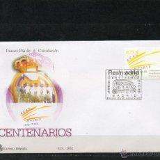 Sellos: SOBRE CON EL MATASELLO ESPECIAL DE PRIMER DIA DE CIRCULACCION DEL CENTENARIO DEL REAL MADRID . Lote 114901951