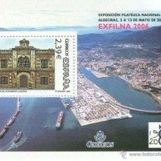 Sellos: ESPAÑA 2006- HOJA BLOQUE -EXFILNA'2006. ALGECIRAS. Lote 39746134