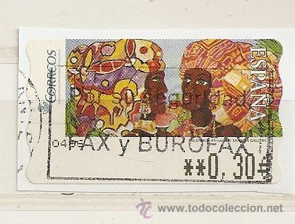 ATM SAMMER GALERY, MELENDEZ, AFRICANAS II (Sellos - España - Juan Carlos I - Desde 2.000 - Usados)