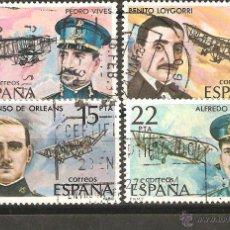 Sellos: LOTE E PERSONAJES ESPAÑA AVIACCION. Lote 39782454