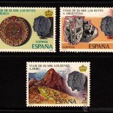 Sellos: ESPAÑA 2493/95** - AÑO 1978 - VIAJE DE LOS REYES A HISPANOAMERICA. Lote 39980509
