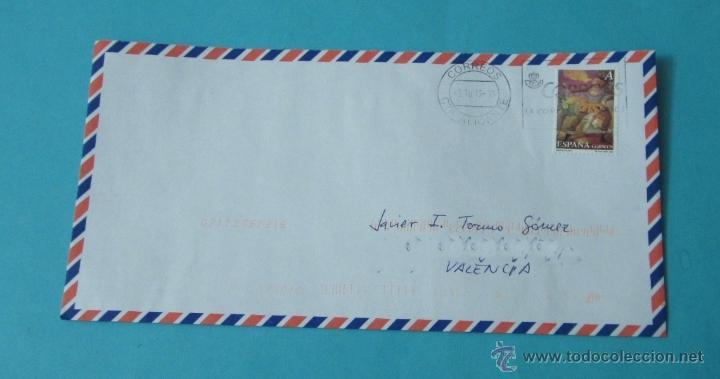 SOBRE CON SELLO DEDICADO AL CIRCO. CTA. ALICANTE - VALENCIA (Sellos - España - Juan Carlos I - Desde 2.000 - Cartas)