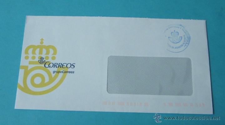 SOBRE CON CUÑO ATENCIÓN AL CLIENTE (Sellos - España - Juan Carlos I - Desde 2.000 - Cartas)