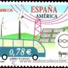 Sellos: ESPAÑA 2006 EDIFIL 4275 SELLO ** AMERICA UPAEP ENERGIAS RENOVABLES SPAIN STAMPS TIMBRE ESPAGNE. Lote 40356211
