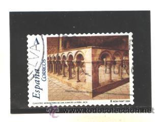 ESPAÑA 2004 - EDIFIL NRO. 4057 - ARTE ROMANICO - USADO-FOTO ESTANDAR (Sellos - España - Juan Carlos I - Desde 2.000 - Usados)