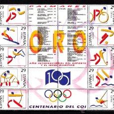 Sellos: ESPAÑA 3325/34** - AÑO 1994 - DEPORTES OLÍMPICOS DE ORO. Lote 111839528