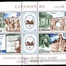 Sellos: ESPAÑA. 2583 ESPAMER80'**. NUMERACIÓN EDIFIL Y SELLOS NUEVOS.. Lote 277167458