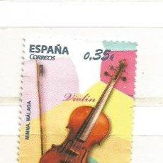 Sellos: ESPAÑA 2011. INSTRUMENTOS MUSICALES, VIOLÍN . Lote 41015182