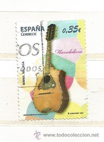 ESPAÑA 2011. INSTRUMENTOS MUSICALES, LAÚD (Sellos - España - Juan Carlos I - Desde 2.000 - Usados)
