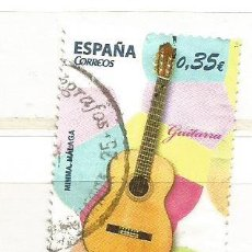 Sellos: ESPAÑA 2011. INSTRUMENTOS MUSICALES, GUITARRA. Lote 41015191