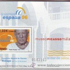 Sellos: ESPAÑA. EXP. ESPAÑA'06: PICASSO**. 2006. NUMERACIÓN EDIFIL Y SELLOS NUEVOS. Lote 148170504