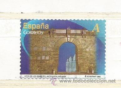 ESPAÑA 2013. ARCO DE LOS GIGANTES, ANTEQUERA. MÁLAGA (Sellos - España - Juan Carlos I - Desde 2.000 - Usados)