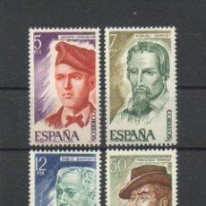 Sellos: ESPAÑA=Nº 2398/01=PERSONAJES ESPAÑOLES=AÑO 1977=REF:0816. Lote 41077453