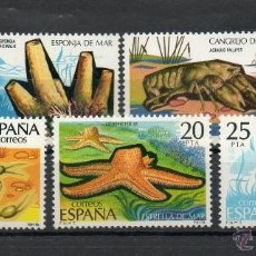 Sellos: ESPAÑA=Nº 2531/35=FAUNA-INVERTEBRADOS=AÑO 1979=REF:0859. Lote 41132865