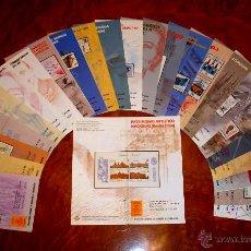 Sellos: PROGRAMAS DE SELLOS AÑO 1989 - COLECCION COMPLETA. Lote 41188896