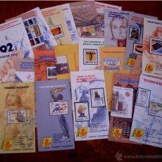 Sellos: PROGRAMAS DE SELLOS AÑO 1992 - COLECCION COMPLETA.. Lote 41208581