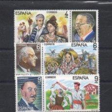 Sellos: ESPAÑA=Nº 2697/02=MAESTROS DE LA ZARZUELA=AÑO 1983=REF:0914. Lote 41285885