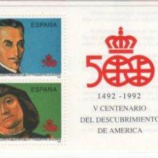 Sellos: CARTERITA.1991.-V CENTENARIO DEL DESCUBRIMIENTO DE AMÉRICA.. Lote 41307709