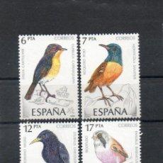 Sellos: ESPAÑA=Nº 2820/23=PAJAROS-AVES=AÑO 1985=REF:0965. Lote 41338543