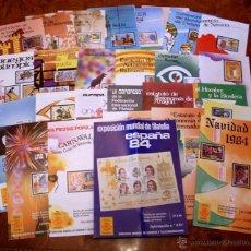 Sellos: PROGRAMAS DE SELLOS AÑO 1984 - COLECCION COMPLETA.. Lote 41364312