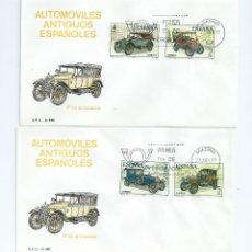 Sellos: AUTOMOVILES ANTIGUOS ESPAÑOLES, AÑO 1977, Nº 2409/12, 2 S.P.D.. Lote 41365176