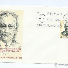 Sellos: CENT. NACIMIENTO MIGUEL PRIMO DE RIVERA, AÑO 1970, Nº 1976, S.P.D.. Lote 41365850