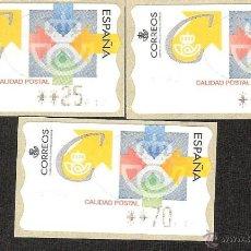 Sellos: ATM ESPAÑA PESETAS SERIE 4 DIG. CALIDAD POSTAL. Lote 41689697