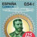 Sellos: ESPAÑA 2014 - SUBMARINO ISAAC PERAL - BARCOS - EDIFIL Nº 4870. Lote 160797184