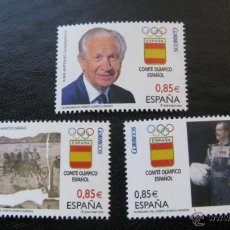 Sellos: 2012 CENTENARIO DEL COMITE OLIMPICO ESPAÑOL. EDIFIL 4731/33. Lote 53334162