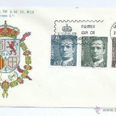 Sellos: DON JUAN CARLOS I, AÑO 1981, SOBRE PRIMER DIA. Lote 42552498
