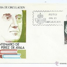 Sellos: CENTENARIO DEL NACIMIENTO DE RAMON PEREZ AYALA, 1980, S.P.D.. Lote 42553103