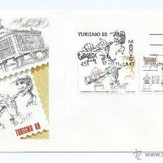 Sellos: TURISMO 1988, SOBRE PRIMER DIA. Lote 42553695