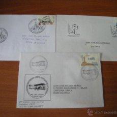 Sellos: LOTE DE SOBRES CON MATASELLOS CONMEMORATIOVS DE PATERNA. VER DESCRIPCIÓN. Lote 42598918