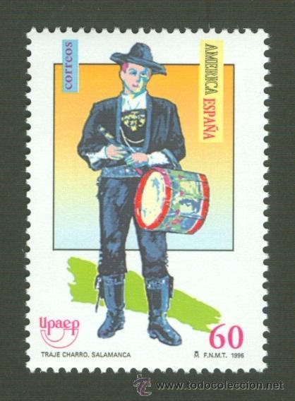 AMÉRICA-UPAEP. TRAJES TÍPICOS MASCULINOS. 1996 EDIFIL 3452 (Sellos - España - Juan Carlos I - Desde 1.986 a 1.999 - Nuevos)