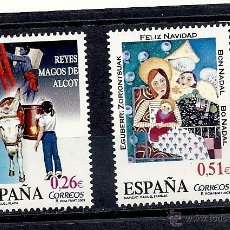 Sellos: ESPAÑA 2003, EDIFIL. Nº 4031/4032**, NAVIDAD. . Lote 42829599